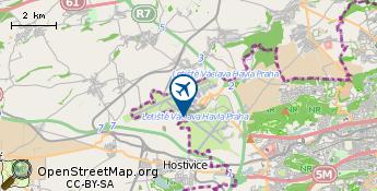 Lentokenttä: Praha