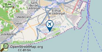 Lentokenttä: Barcelona
