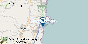 Lentokenttä: Gran Canaria